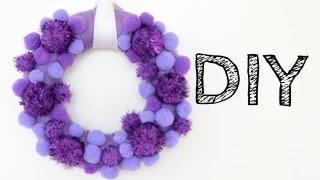 DIY: Christmas wreath. Christmas ring. Christmas decoration.Рождественский венок