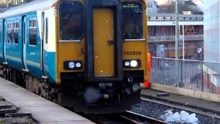 First Train to depart Pontypridd Station Bay Platform
