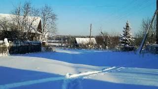 Белым снегом ( песня под гармонь)