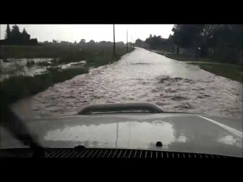 Flooding around Johannesburg