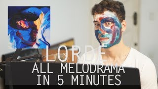 Lorde - Melodrama Medley (Cover)