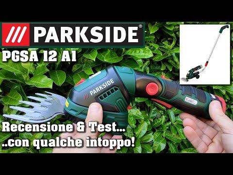 Parkside cesoia a batteria 12V PGSA 12 A1 Recensione e test ITA