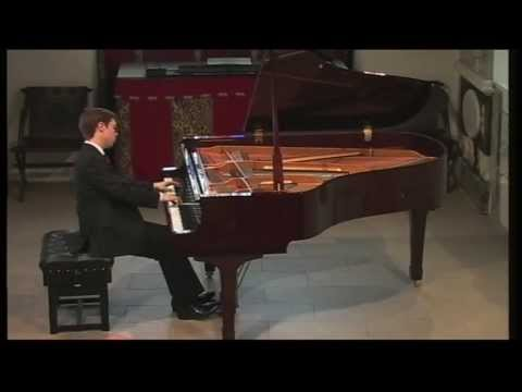 Ashley Fripp plays Bach French Suite no 5 (2 movts)