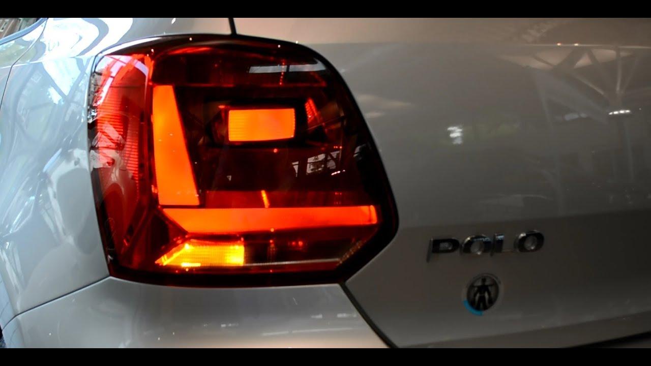 original vw polo facelift led rear light tail lights rueckleuchten ruecklicht heckleuchte