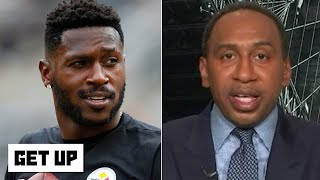 Stephen A. shuts down the idea of Antonio Brown signing with the Ravens | Get Up