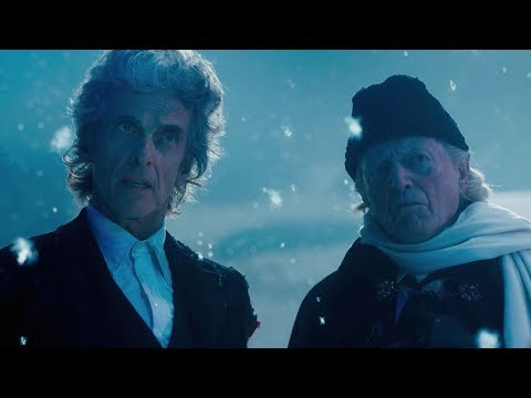 The Twelfth Doctor Meets The First Doctor | Twice Upon A Time | Doctor Who