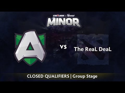 ReaL DeaL vs Alliance - StarLadder ImbaTV Minor - Game 1