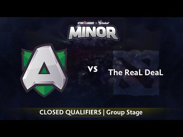 Alliance vs The ReaL DeaL Game 1 - StarLadder ImbaTV EU Qualifier: Group Stage
