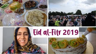 Eid al-Fitr 2019 | Preparing for Eid, Baking Our Eid Cake & Celebrating Eid | Shamsa