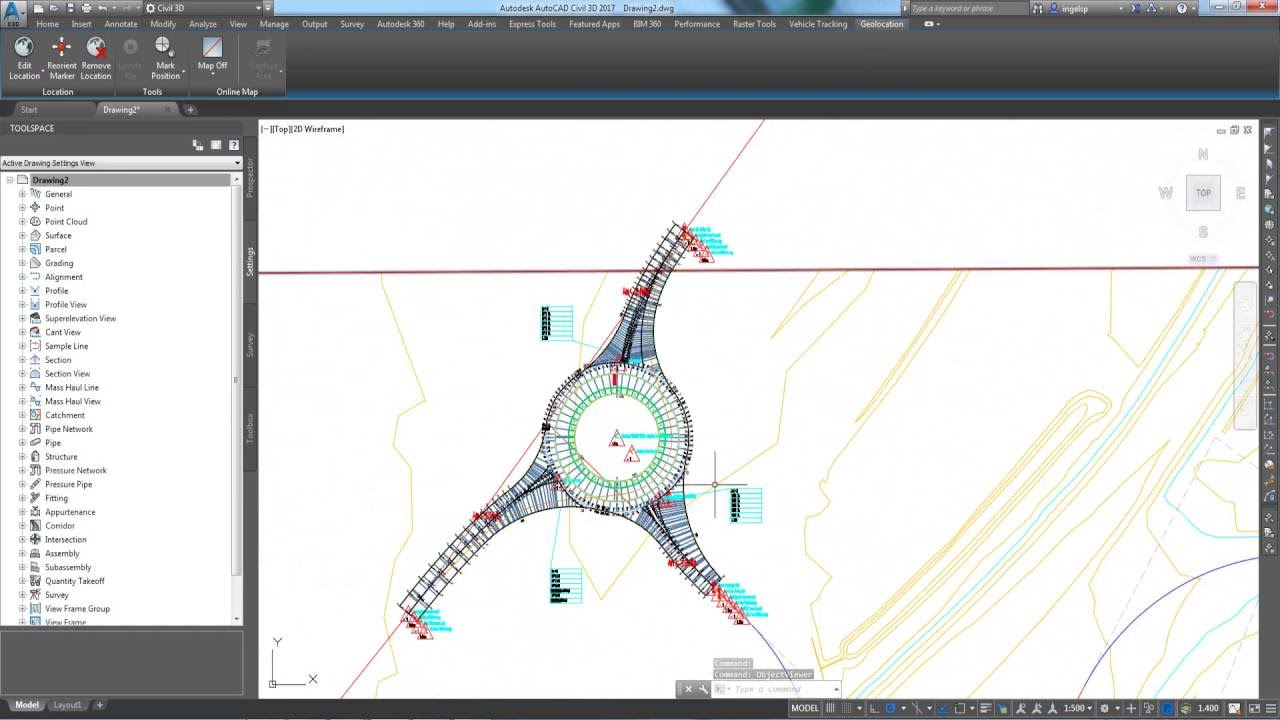 02 Civil 3D - Detailed Road Design - YouTube