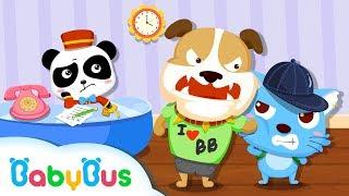 Panda Hotel - Pużzle   Gameplay Video   Educational Games for kids   BabyBus