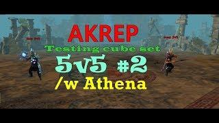 Drakensang Online | Akrep Testing Cube Set 5v5 PvP #2 (PERFECT PVP)