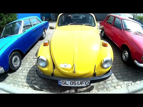 Yellow VW Beetle 1995 model in very good condition