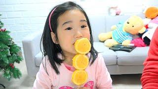 Boram faz boas escolhas e troca doces por frutas