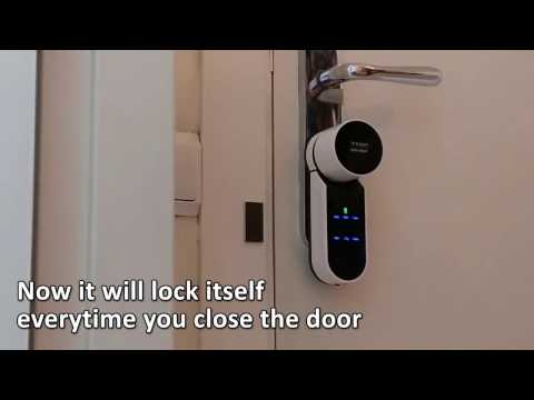 TESA ASSA ABLOY ENTR SMARTLOCK TUTORIAL. How to install