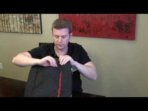 Belkin Slim Notebook Laptop Backpack Case Bag - Review & Demo
