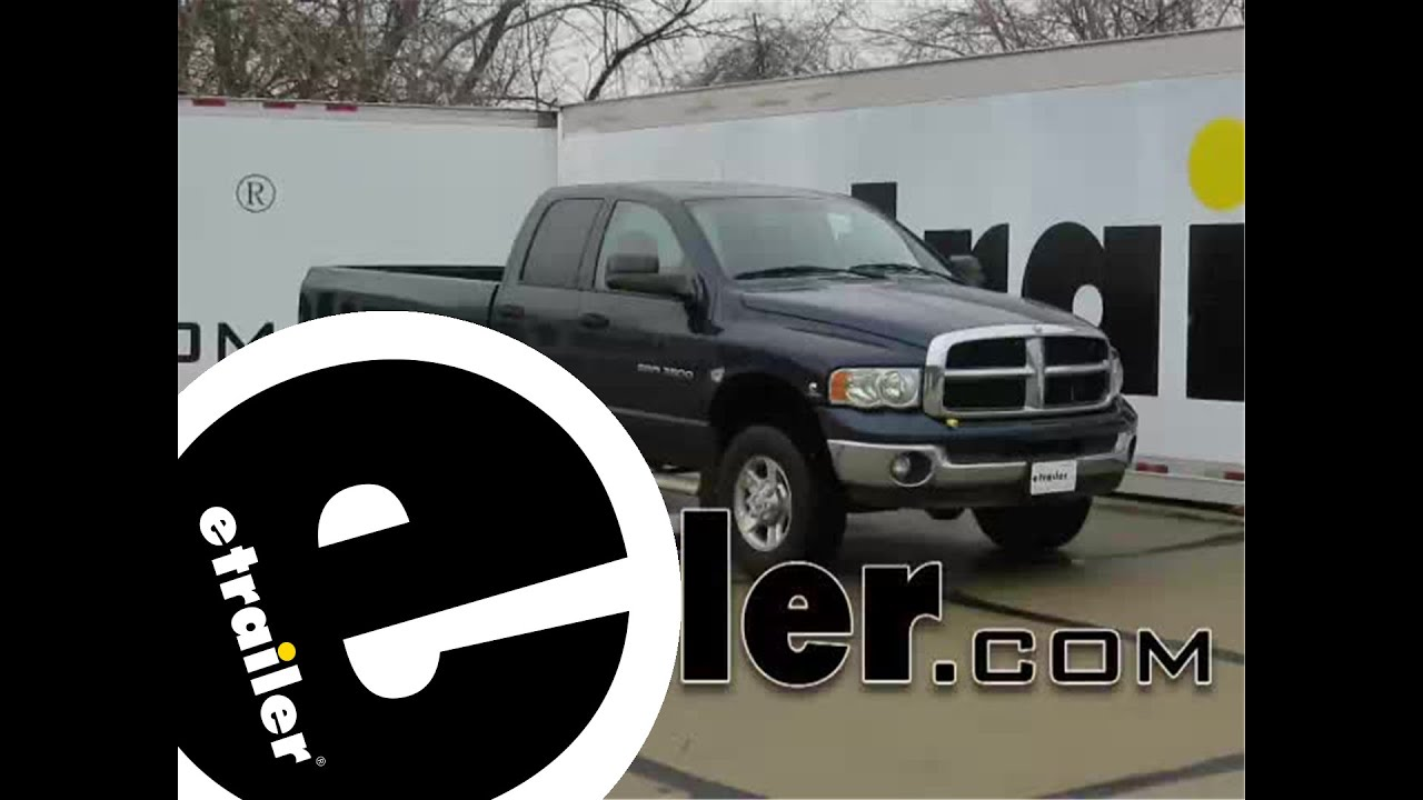 hight resolution of trailer wiring harness installation 2003 dodge ram pickup etrailer com