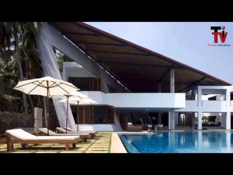 Les maisons les plus luxueuse dans le monde
