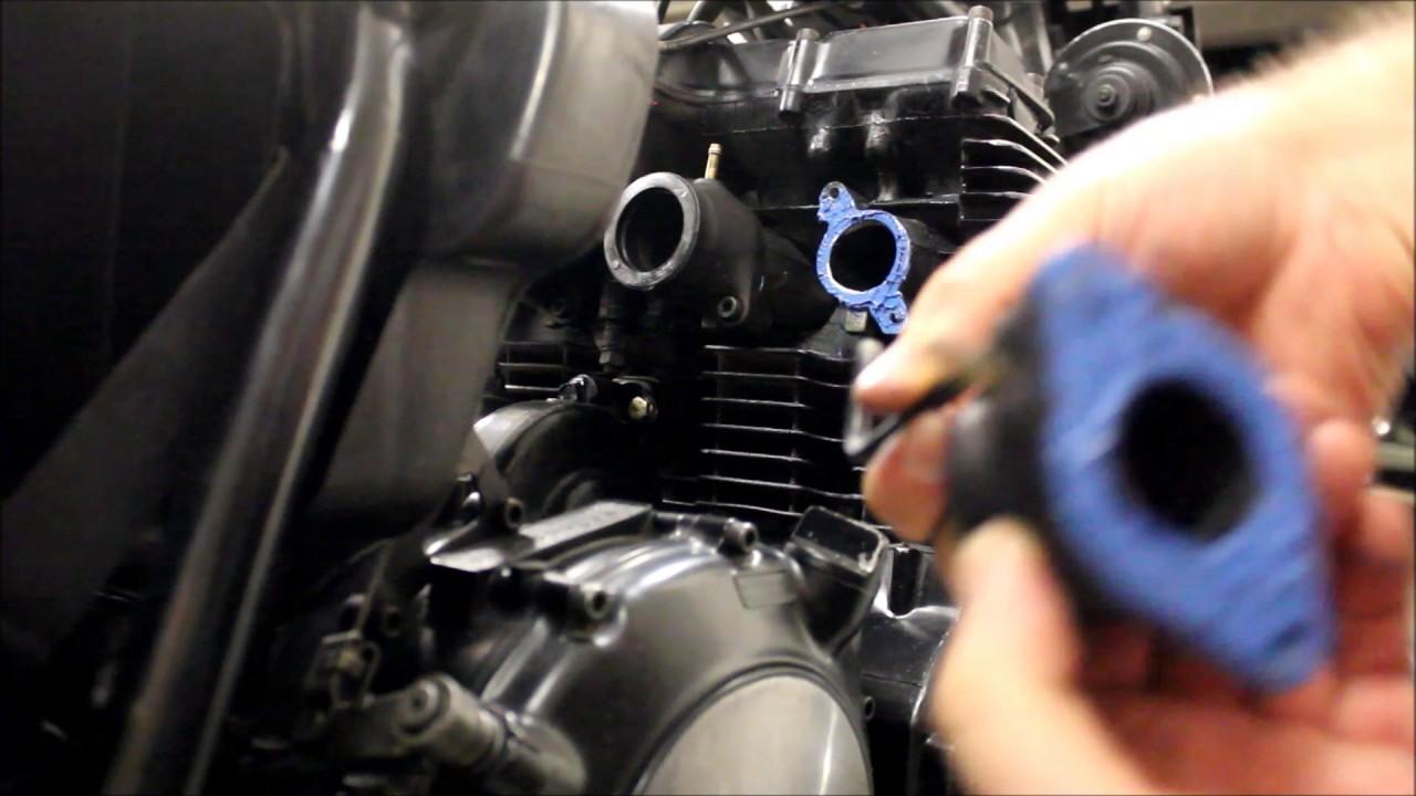 Intake Manifold / Boot Fix Repair, Heat Shrink  Does it work? (XJ650)