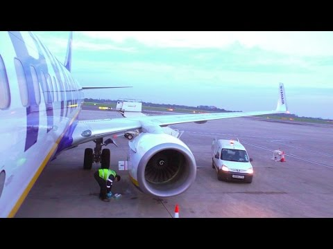 Full flight video from Dublin to Manchester