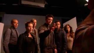 """Almost Human"" - Behind The Scenes With The Cast"