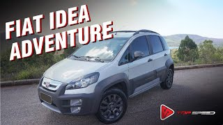 Fiat Idea Adventure  Vale A Pena?  Top Speed