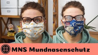 Mundschutz nähen / Brillenträger aufgepasst / Face Mask DIY