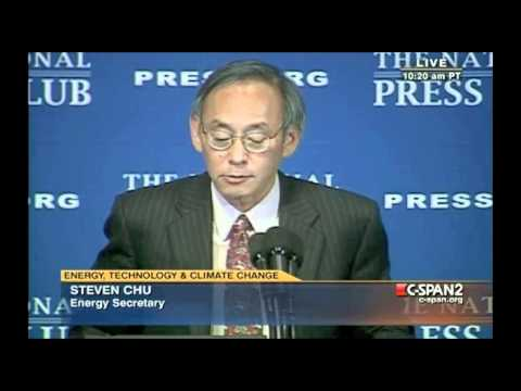 Steven Chu on Renewable Energy and Climate Change - (techno version)