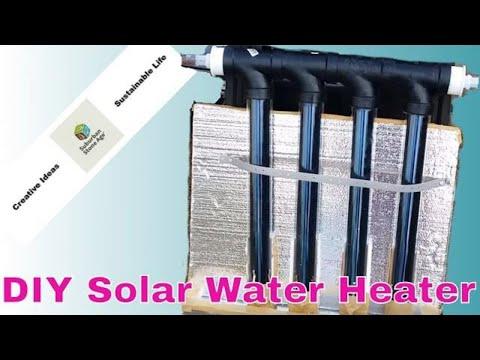 Diy Solar Water Heater Deluxe Aluminum Backed Copp