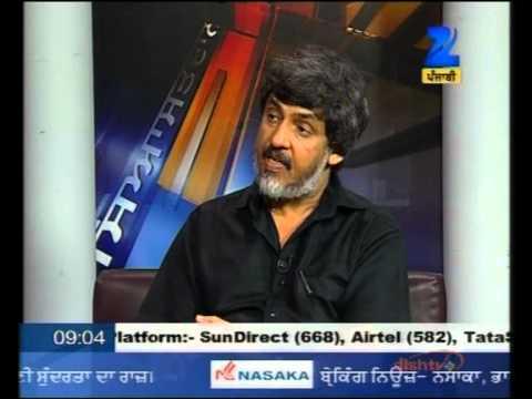 Diwan Manna - Khas Mulaqat Part 1 of 3 interview on Channel Z Punjabi with Balvinder.wmv