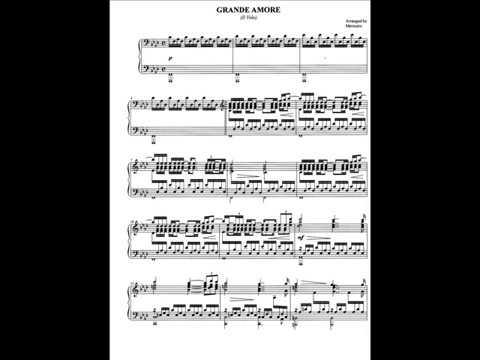 Grande Amore (piano solo) IL VOLO