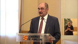 Lambán lamenta la decisión de Pilar Ventura de dimitir