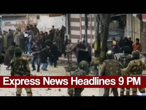 Express News Headlines and Bulletin - 09:00 PM | 15 March 2017