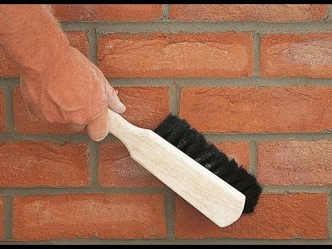 Ziegel mauern. Ziegelstein mauern. Mauern mit Klinkern ...