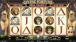 Divine Fortune with Free Spins ($4 bets) SugarHouse online slots