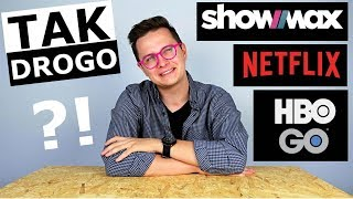NETFLIX vs. HBO GO vs. SHOWMAX - CO LEPSZE?!