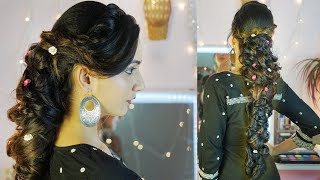 Thick Messy Braid hairstyle with Extensions | High Fashion  Long CHOTI