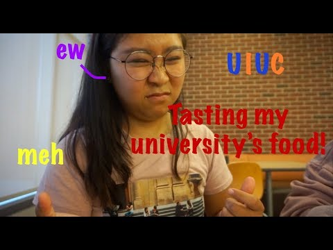Eating at UIUC! Episode 1