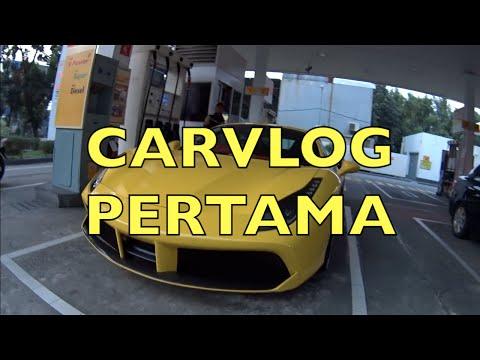 #carvlog Pertama w/ President Ferrari Owner Club Indonesia - 488 GTB Jakarta, Part 1