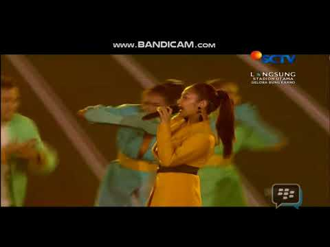 Siti Badriah 'Jaran Goyang ' Closing Ceremony Asian Games 2018