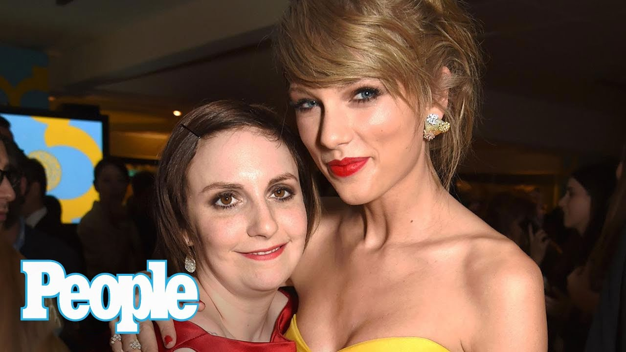 Lena Dunham Shows Support For Taylor Swift After Singer Testifies In Court | People NOW | People