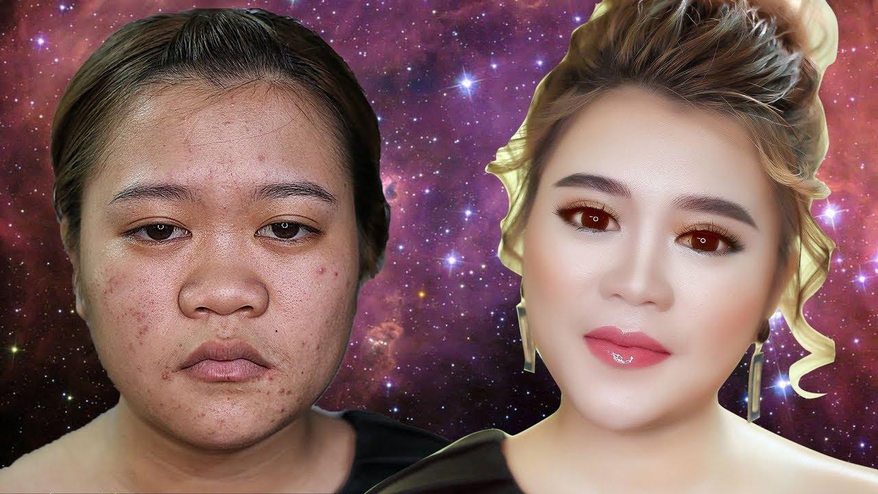 Bí Kíp Trang Điểm Cho Nàng Mũi Tẹt , Mặt Nọng / Hùng Việt Makeup
