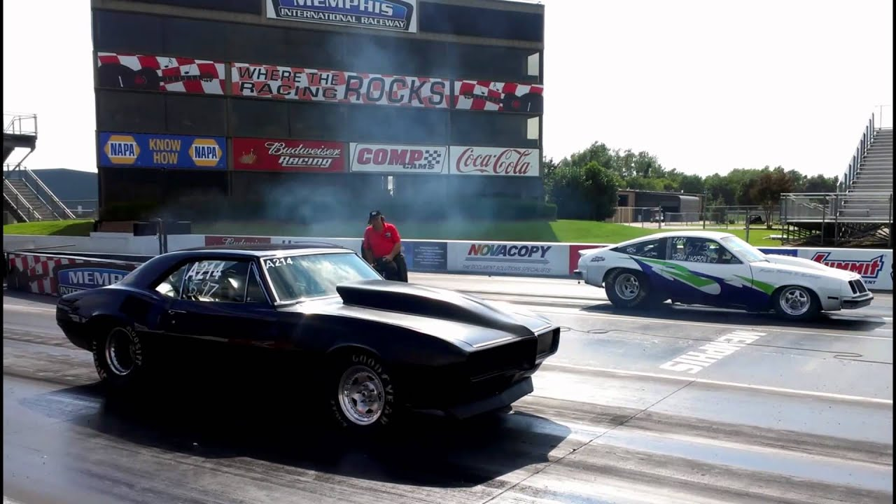American Muscle Cars Drag Racing! - YouTube