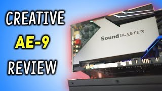 Is This Sound Card Worth $350...!? Creative AE-9 Review