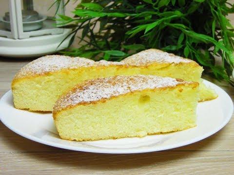 Пирог на сгущенном молоке. Biscuit On Condensed Milk.
