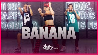 Banana - Conkarah ft. Shaggy [DJ FLe - Minisiren Remix] | FitDance (Coreografia) | Dance Video