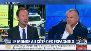 Terrorisme islamique : Alain Marsaud quitte le plateau de BFMTV en direct