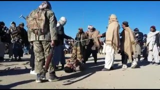 ghazni report محکمه صحرایی در مرکز غزنی