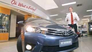 CAR REVIEW- 2014 TOYOTA COROLLA SEDAN - DUBBO CITY TOYOTA [AUSTRALIA] [HD 1080]