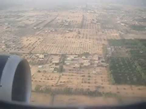 Airbus landing at Tripoli airport, Libya. Last peaceful landings, early March 2011